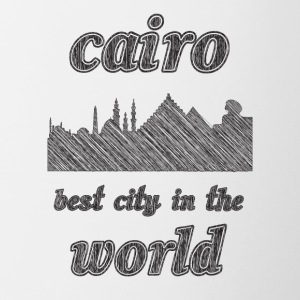 Cairo Best city in the world - Contrast Coffee Mug