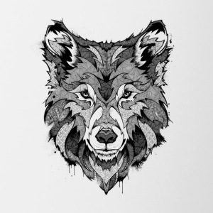 Wolf - Fury - Contrast Coffee Mug