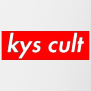kys cult red - Contrast Coffee Mug