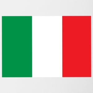 italian flag - Contrast Coffee Mug