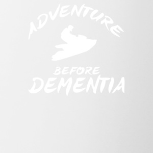 Adventure Before Dementia Jet Ski - Contrast Coffee Mug