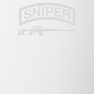 Sniper Rifle firearms Logo - Contrast Coffee Mug