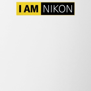 I AM NIKON Fan Campaign D4 F DSLR 35 mm APS SLR - Contrast Coffee Mug