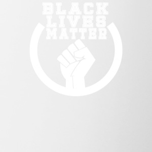 Black Lives Matter Freedom Justice for all Black - Contrast Coffee Mug