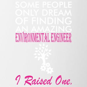 Some People Dream Amazing Environmental Engineer - Contrast Coffee Mug