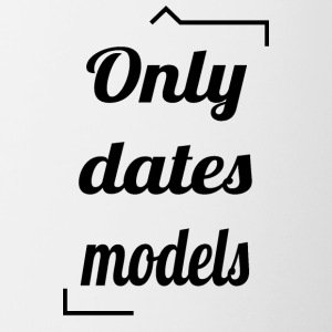 Only dates models - Contrast Coffee Mug