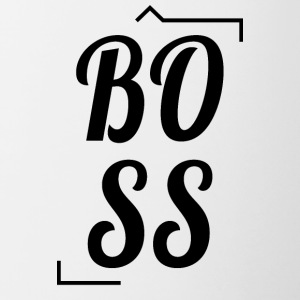 BOSS - Contrast Coffee Mug