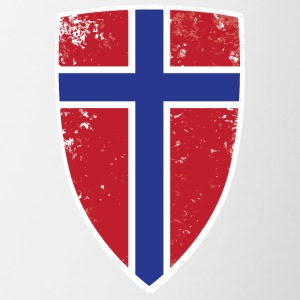Shield of Norway - Contrast Coffee Mug