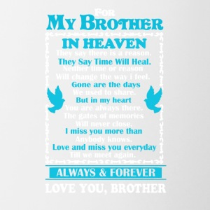 Brother In Heaven Shirt - Contrast Coffee Mug