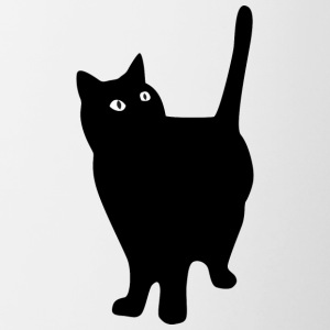 black_fat_cat - Contrast Coffee Mug