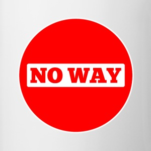 No Way - Contrast Coffee Mug