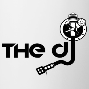 THE DJ - Contrast Coffee Mug