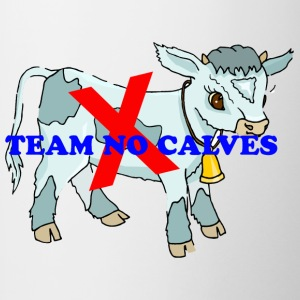 Team no calves - Contrast Coffee Mug