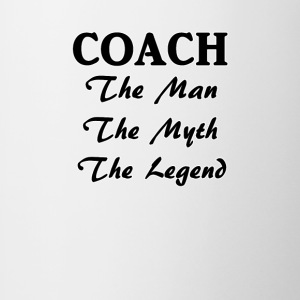 Coach The Man The Myth The Legend - Contrast Coffee Mug