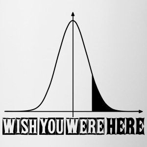 Wish you were here - Contrast Coffee Mug