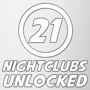 21 Years Old Nightclubs Unlocked - Contrast Coffee Mug