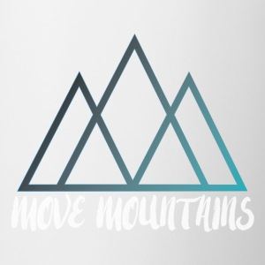 Move Mountains - Contrast Coffee Mug