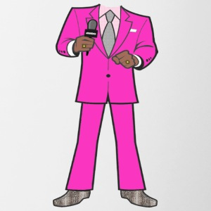 Hot Pink Suit - Contrast Coffee Mug