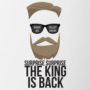 The King is back! - Contrast Coffee Mug