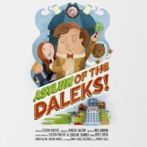 Asylum of the Daleks - Contrast Coffee Mug