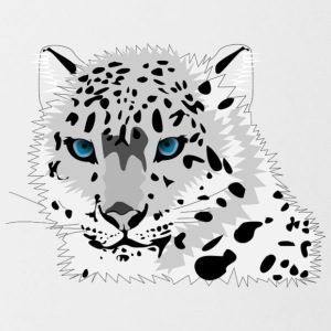 animal snow leopard - Contrast Coffee Mug