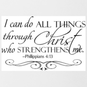 I can do all things - Contrast Coffee Mug