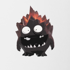 Mini Lava troll - Contrast Coffee Mug