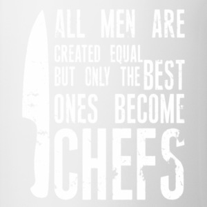 Chef all men created equal - Contrast Coffee Mug