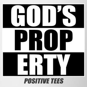 God's Property - Contrast Coffee Mug