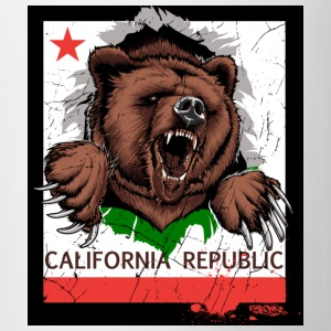 California Bear - Contrast Coffee Mug
