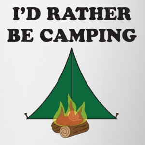 Rather Be Camping - Contrast Coffee Mug