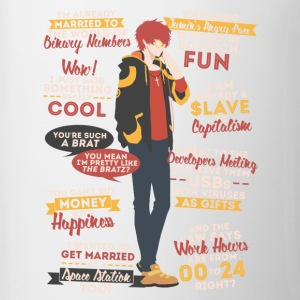 707 Quotes - Contrast Coffee Mug