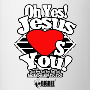 Oh Yes Jesus Loves You - Contrast Coffee Mug