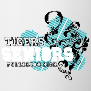 TIGERS SENIORS FULLERTON HIGH - Contrast Coffee Mug