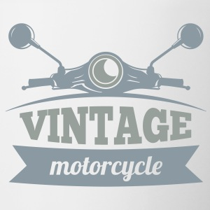 Vintage Motorcycle - Contrast Coffee Mug