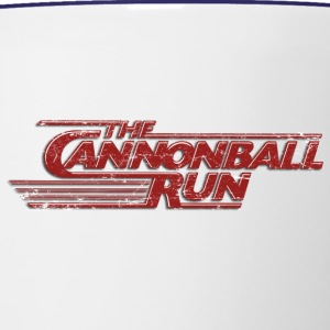 The Cannonball Run - Contrast Coffee Mug