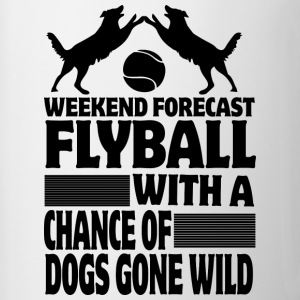 Weekend Forecast Flyball - Contrast Coffee Mug