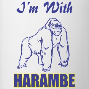 I-m With Harambe - Contrast Coffee Mug