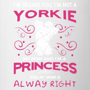Yorkie Princess Shirt - Contrast Coffee Mug