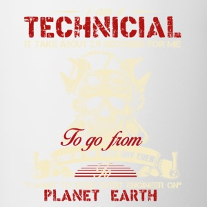 Technician Shirt - Contrast Coffee Mug