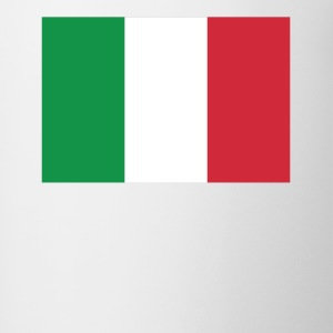 Flag of Italy Cool Italian Flag - Contrast Coffee Mug