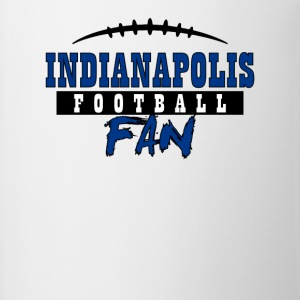 Indianapolis football fan - Contrast Coffee Mug