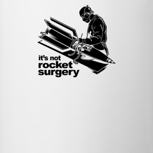 it's not Rocket Surgery - Contrast Coffee Mug