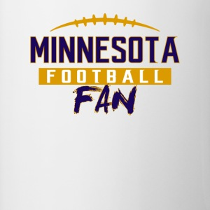 Minnesota Football Fan - Contrast Coffee Mug