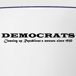 Democrats - Contrast Coffee Mug