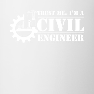 I'm A Civil Engineer Shirt - Contrast Coffee Mug