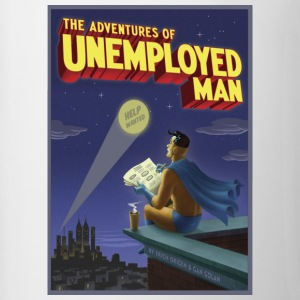 The Adventure of Unemployed Man - Contrast Coffee Mug