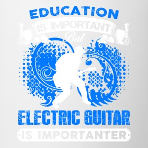 Electric Guitar Is Importanter Shirt - Contrast Coffee Mug
