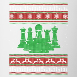 Chess T shirt - Chess Christmas Shirt - Contrast Coffee Mug