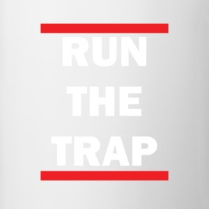 Run The Trap - Contrast Coffee Mug